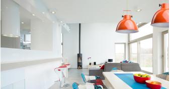 Цветное настроение: выбираем яркий светильник