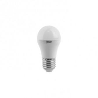 105102107 Лампа Gauss LED Globe E27 6.5W 100-240V 2700K 1/10/50