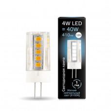 207307204 Лампа Gauss LED G4 12V 4W 410lm 4100K керамика 1/10/200