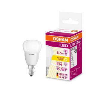 Светодиодная лампа LEDSCLP40 5,7W/827 230VFR E1410X1RUOSRAM