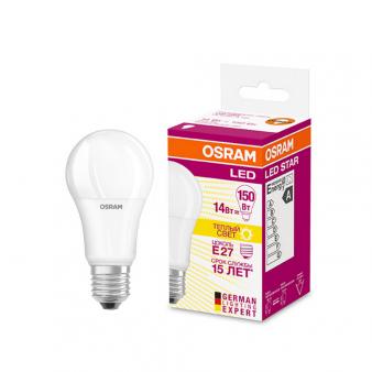 Светодиодная лампа LEDSCLA150 13W/827 230VFR E2710X1RUOSRAM