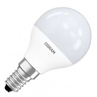 Светодиодная лампа LSCLP60 6,5W/827 230VFR E14 10X1 RUOSRAM